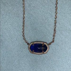 a Kendra Scott Elisa pendant necklace